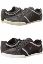 Size 12 & 13 LACOSTE Leather Mens Sneaker Shoe! Reg$145 Sale$79.99 - $69.99