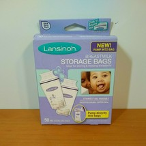 Lansinoh Breastmilk Storage Bags - 50 Pre Sterilized Bags (NOS) NEW - $13.81