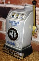 Harolds Club Reno Nevada Jim Beam Decanter Bar Liquor Decor Bottle Slot ... - $19.99