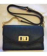 Michael Kors Karson Blue Cross Body Shoulder Bag Handbag Leather RRP £195 - $169.72