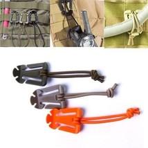 Molle Backpack Carabiner 10 Pcs/lot Elastic Rope Webbing Buckle Winder E... - $94,59 MXN