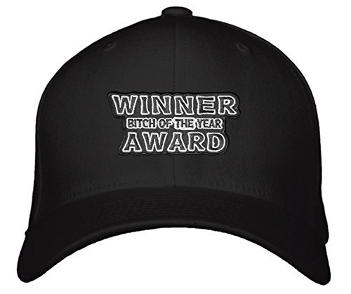 Bitch of the Year Award Winner Hat - Style Color Options (Black)