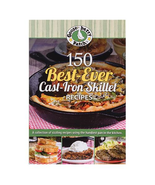 Gooseberry Patch 150 Best Ever Cast Iron Skillet Recipes 250 pages of re... - $29.99
