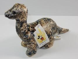 """Walt Disney World Animal Kingdom Brontasaurus Dinosaur 6"""" Bean Bag Plush... - $6.92"""
