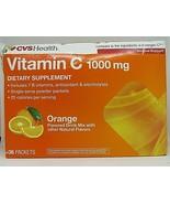 CVS Heath Vitamin C 1000mg ORANGE 36 packets,Immune support antioxidant  - $14.80