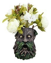 Ebros Gift Whispering Willows Evergreen Forest Greenman Wall Hanging Pla... - $39.99