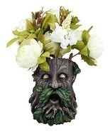 Ebros Gift Whispering Willows Evergreen Forest Greenman Wall Hanging Pla... - €35,70 EUR