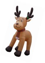 Jumbo 15 Foot Christmas Inflatable Reindeer Decoration - £225.83 GBP