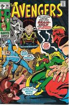 The Avengers Comic Book #86, Marvel Comics Group 1971 VERY FINE- - $30.88