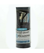 Foster Grant eReader Reading Glasses Soft Case Cleaning Cloth +2.00 - $16.95