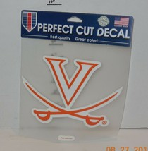 Wincraft Virginia Cavaliers Perfect Cut Decal NCAA College - $9.50