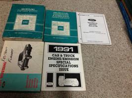 1991 Ford Mustang Gt Cobra Service Shop Reparatur Werkstatt Manuell Set ... - $237.54