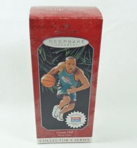 Hallmark 1998 Hoop Stars #4 Grant Hill NBA Detroit Pistons Basketball Or... - $7.95