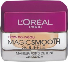 NEW L'Oreal Magic Smooth Souffle Makeup in 526 Sand Beige (Sealed) - $26.72