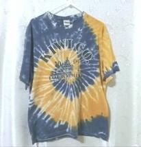Men's Tie Dye Billiard Gildan T Shirt Kiwi Co 8 Ball Tournament Size XL - $8.00
