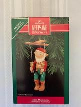 Hallmark Keepsake Elfin Marionette Figurine 1992 Christmas Tree Ornament... - $9.49