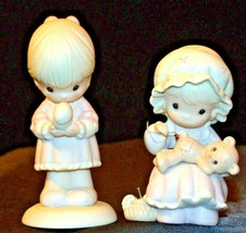 1989 and 1990 Precious Figurines Moments 2 Pieces AA-191822  Vintage Collectible