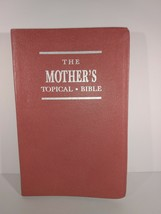 The Mother's Topical Bible Pink Bonded Leather Gilded VG - $14.80