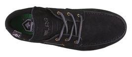 LRG Mangrove Black Leather Suede Boat Shoes Size 9 42 EUR NIB image 6