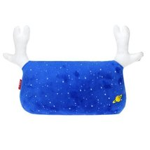 Simple Design Car Headrest/Car Neck Pillow ,(Lovely Elk) BLUE SKY
