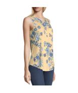 Liz Claiborne Crew Neck Sleeveless Henley Shirt Sizes XXL New Sunlight F... - $12.99