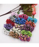 144pcs Mini pearl Berry Artificial Stamen Flower For Wedding Home Decora... - $10.38