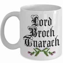 Outlander Fan Gift Lord Broch Tuarach Jamie Fraser Coffee Mug JAMMF Ceramic Cup - $19.55+