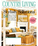 COUNTRY LIVING Magazine - March Issue 2007 - Women Entrepreneurs - $6.00