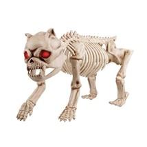 19 in. Animated Skeleton Dog - $40.14