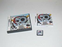 50 Classic Games (Nintendo DS, 2009) Complete: - $7.50