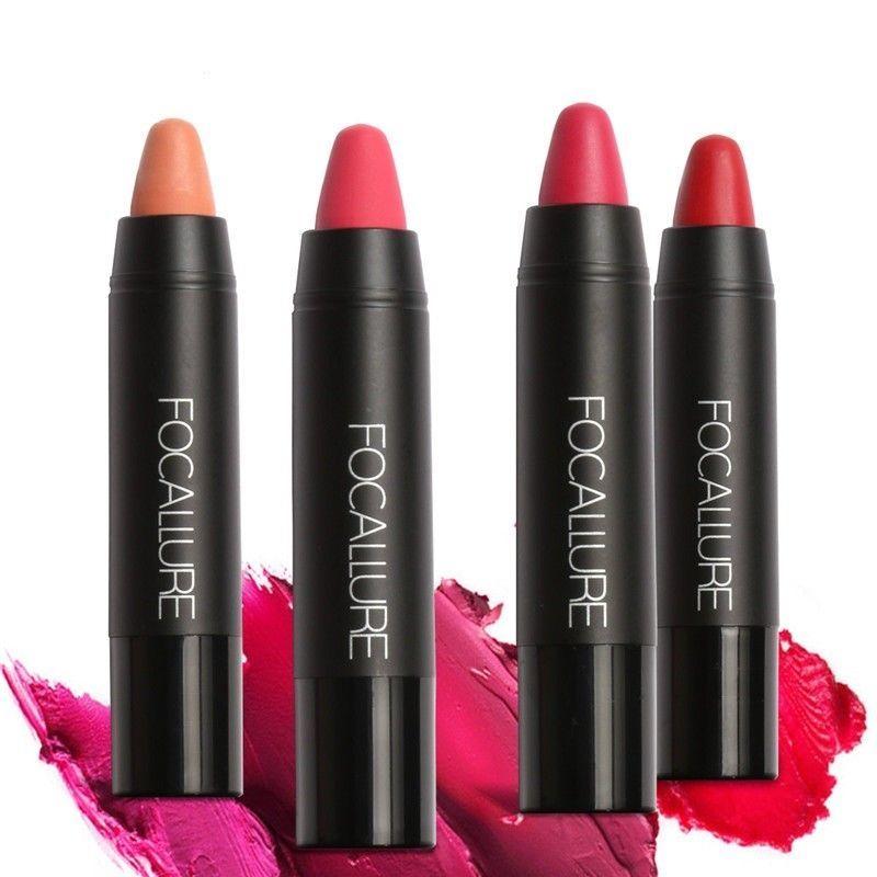 Matte Lipsticks Waterproof Lip Sticks Long Lasting Pencil Cosmetic Lips Makeup image 9