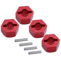 4pcs/Lot For RC 1/10 Traxxas Traxxas Slash 4x4 Upgrade Parts Aluminum Wheel Hex  - $12.65