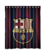 Barca 03 Shower Curtain Waterproof Polyester Fabric For Bathroom  - $33.30+