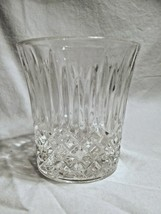 set of 4 FOSTORIA Glass Clear Crystal BENNINGTON dof ROCK glasses  - $19.99