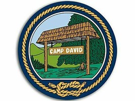 "CAMP DAVID  PRESIDENT PRESIDENTIAL RETREAT   4"" MAGNET MAGNETIC MADE IN USA - $18.99"