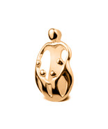 Loving Family 9ct Yellow GOLD Pendant - Mother and four Children - $124.74