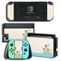 Vinyl Decal Skin Sticker Protector for Nintendo Switch Animal Crossing - $10.99