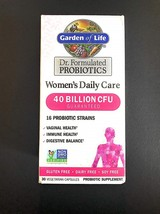 Garden of Life Dr. Formulated Women's Daily Care 30 Capsules 40 Billion CFU 16 - $127.31