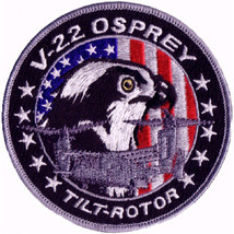 United States Air Force V-22 Osprey Tilt-Rotor Military Patch - $11.87