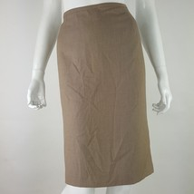 Calvin Klein Womens Size 10 Brown Modern Essentials Pencil Skirt Career NWT - $22.43