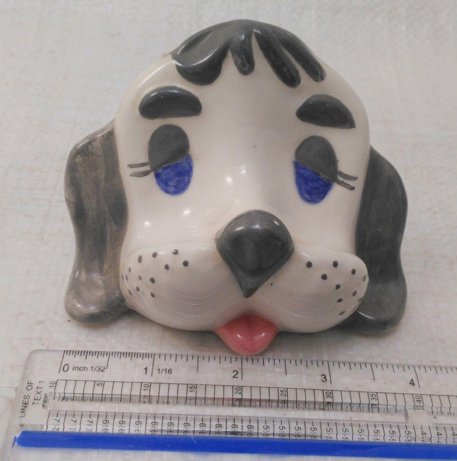 Dog/Puppy Eyeglass Caddy Stand~Vintage Ceramic