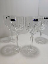 """Set of 4 Marquis by Waterford """"Brookside"""" All Purpose Wine Glasses NIB - $39.59"""
