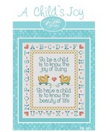 A Child's Joy Post Stitches cross stitch chart Sue Hillis Design - $5.40