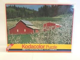 Kodacolor Hood River Valley Oregon 500 Pc VTG RoseArt 1993 Landscape Puz... - $27.71