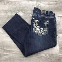 EARL JEANS Skinny Leg Low Rise Dark Wash Blue Jeans Denim Pants Women's ... - $20.30