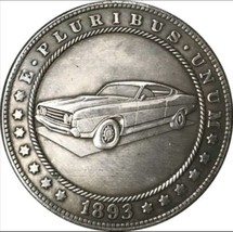 New Hobo Nickel 1893 USA Morgan Dollar Car GTO Pontiac Casted Coin - $11.99