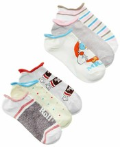 Disney Women's 6-Pk Assorted Candy No-Show Socks, Size 9-11 - $10.69