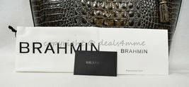 NWT Brahmin Medium Asher Embossed Leather Tote/Shoulder Bag in Chicory Melbourne image 8
