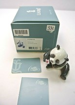 A CHEERFUL PANDA - ANIMAL FIGURINE BY LLADRO #8358 - $143.99