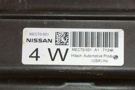 08 Nissan Pathfinder 4.0 ECU ECM PCM MEC70-501 A1 image 4